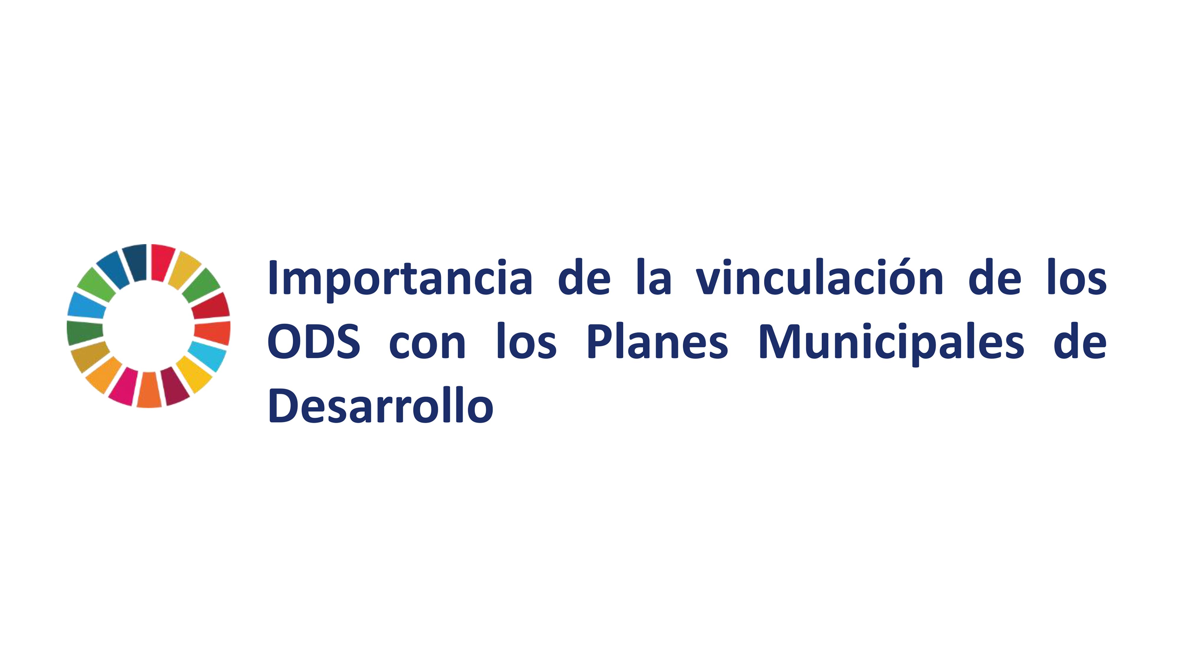 Vinculación de ODS-PMD